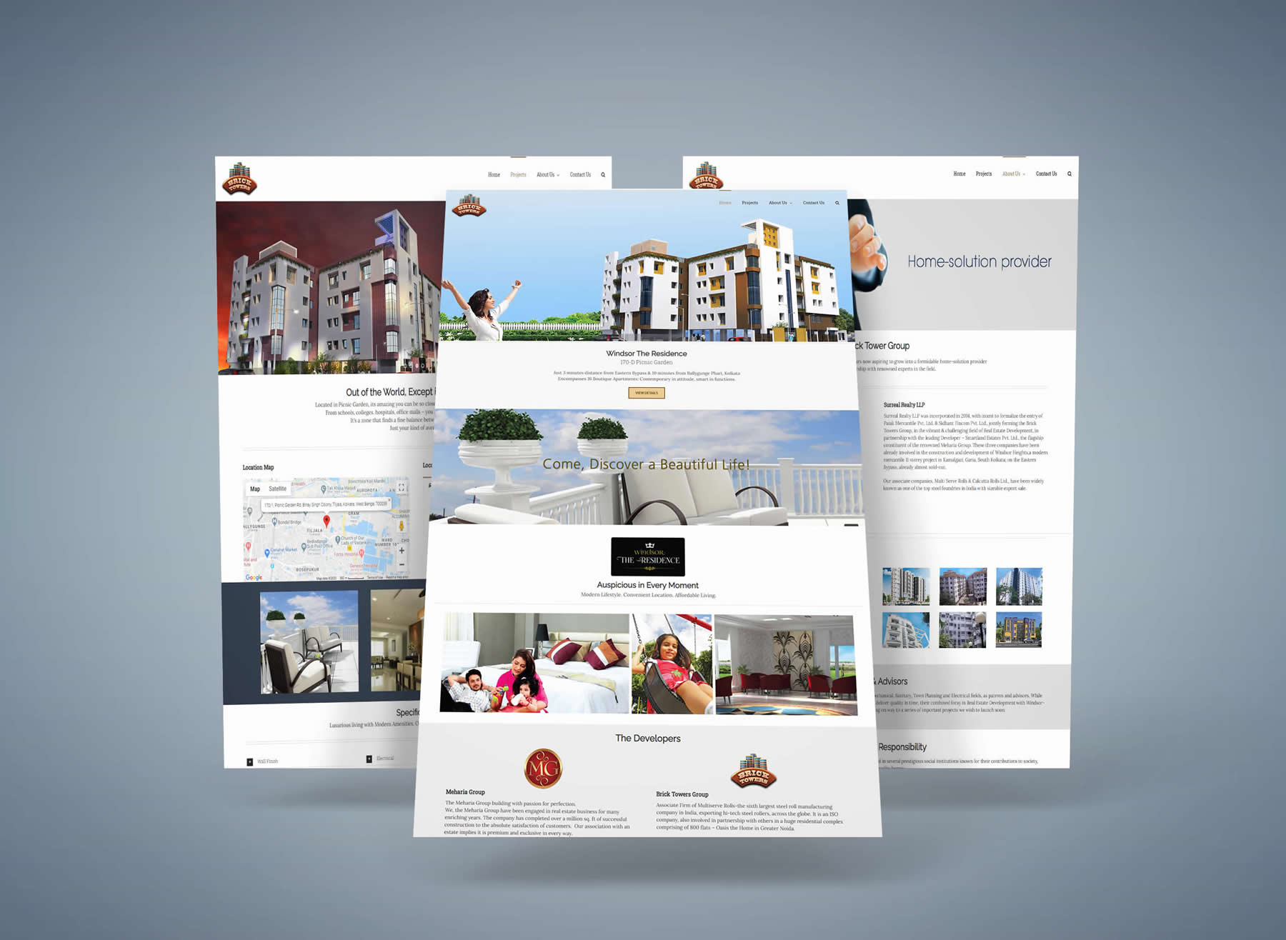 Brick Towers Group Website