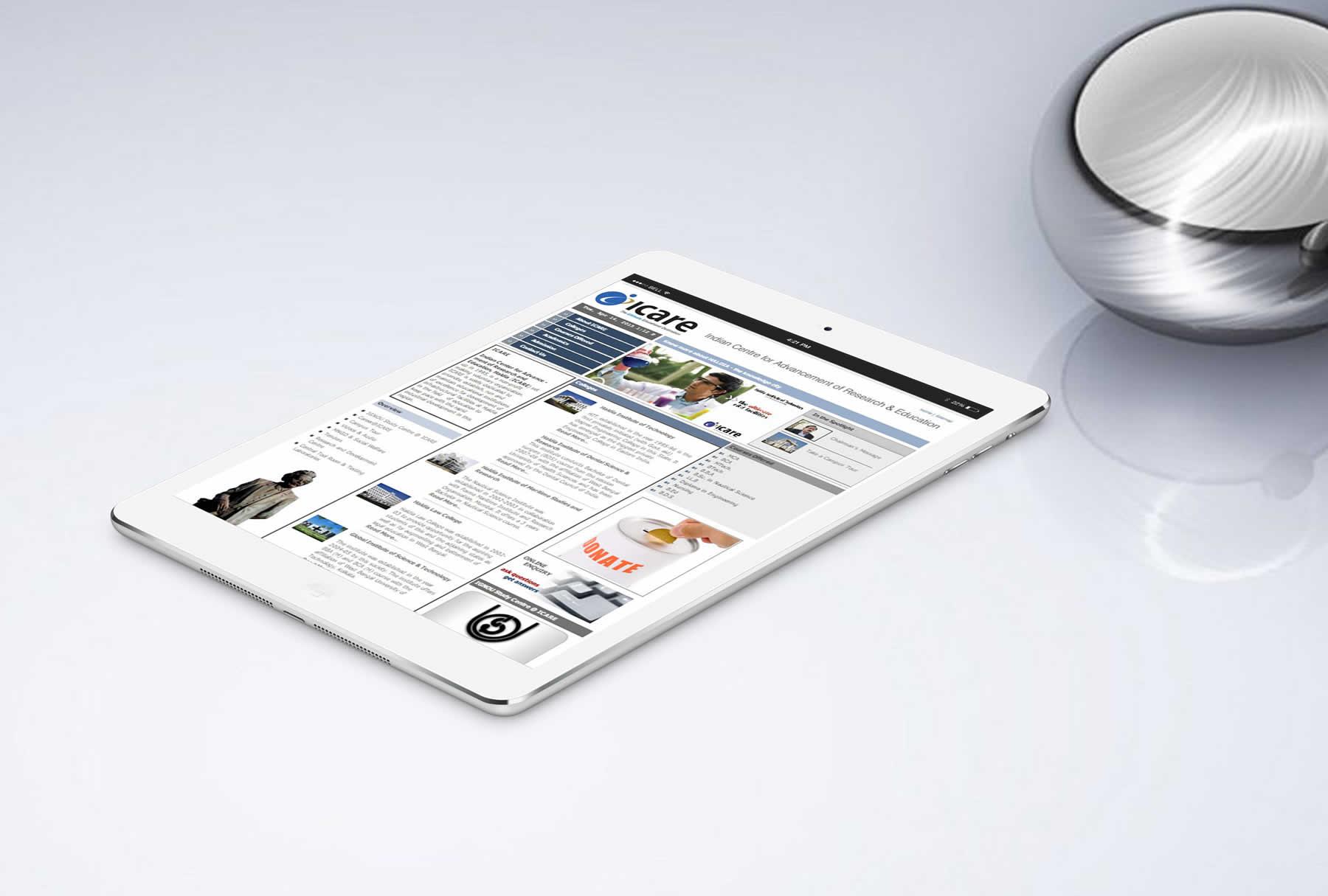 ICARE Website