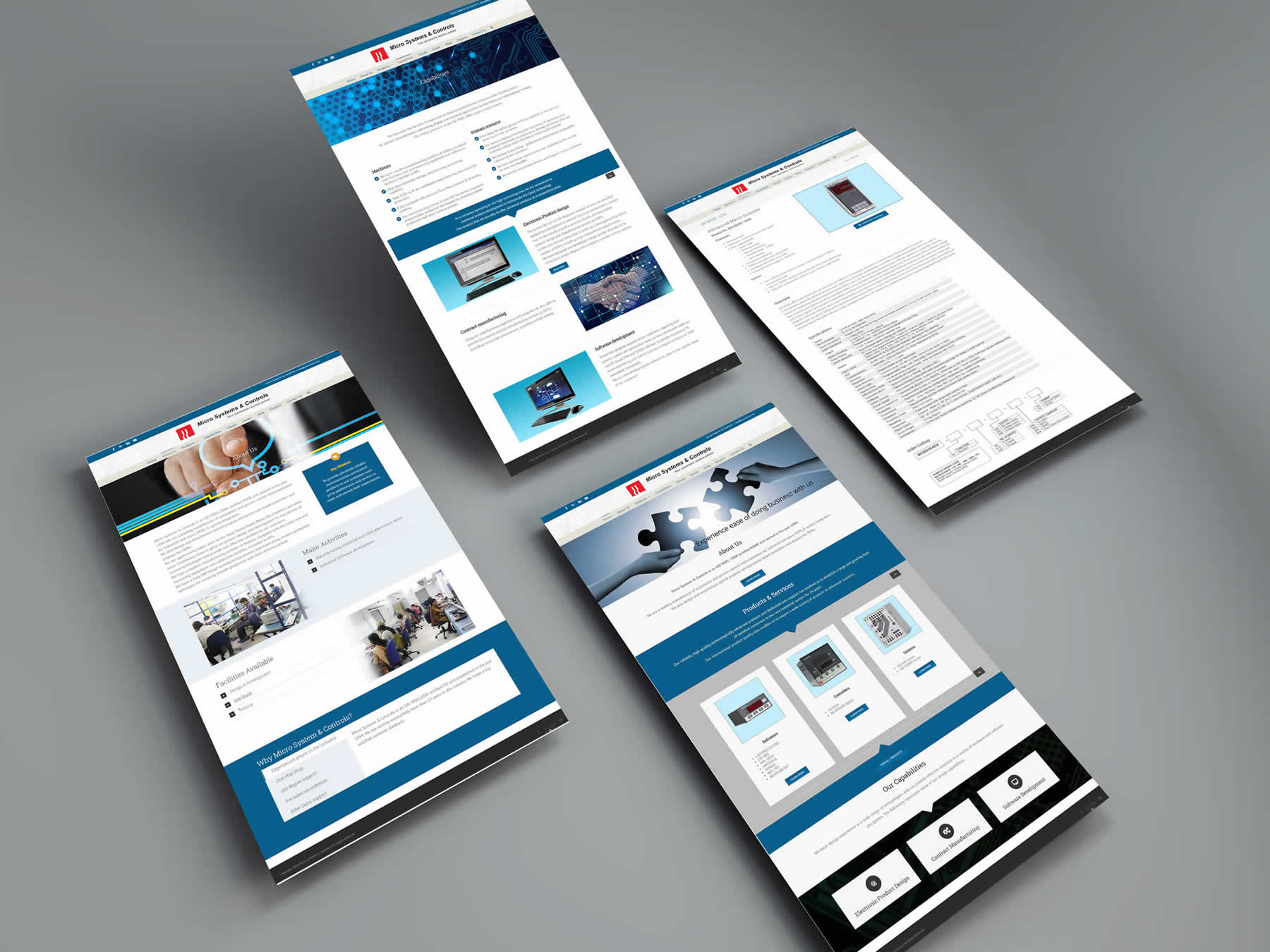 Micro Systems & Controls Website